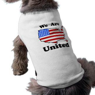 Nós somos camiseta de cão unida