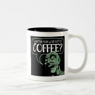 NÓS somos FORA DO CAFÉ? Caneca engraçada dos