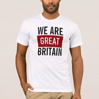 Nós somos Grâ Bretanha Camiseta
