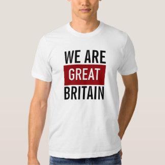 Nós somos Grâ Bretanha T-shirt
