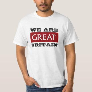 Nós somos Grâ Bretanha Tshirt