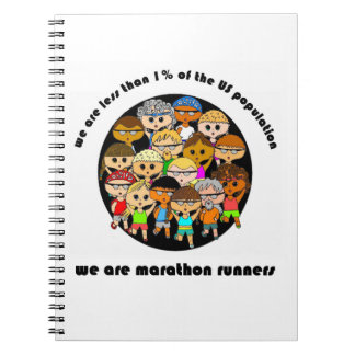 Nós somos o caderno dos corredores de maratona
