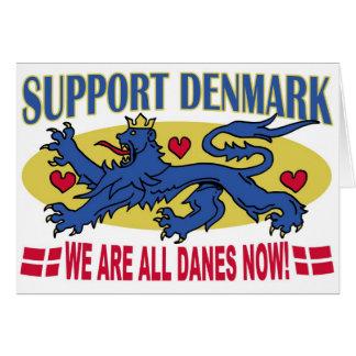 Nós somos todo o cartão de Dinamarca dos