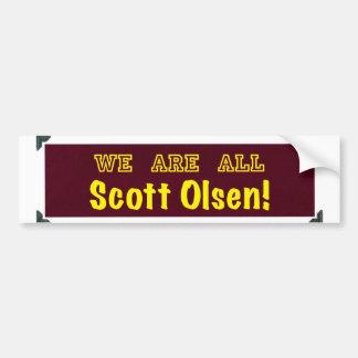 Nós somos todo o Scott Olsen! Adesivo
