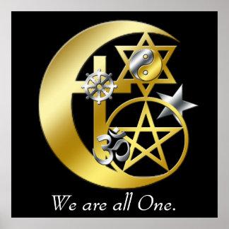 """""""Nós somos todos os."""" Poster Pôster"""