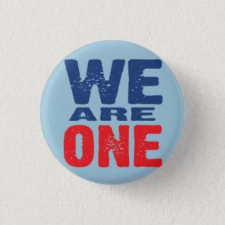 Nós somos um botão bóton redondo 2.54cm