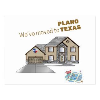 Nós temos movimentos ao cartão de Plano Texas