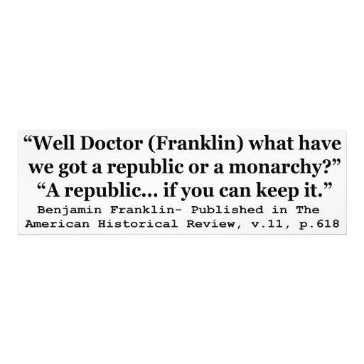 Nós temos uma república ou umas citações de Frankl Fotografias