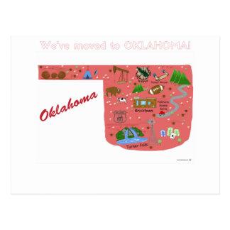 Nós transportamo-nos ao cartão de Oklahoma