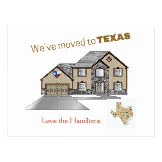 Nós transportamo-nos ao cartão de Texas