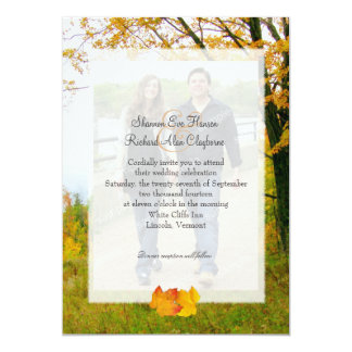 Nossa árvore no convite do casamento da foto da