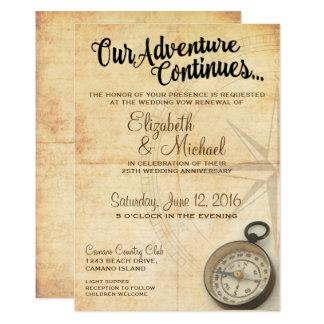 Nossa aventura continua o convite do aniversário