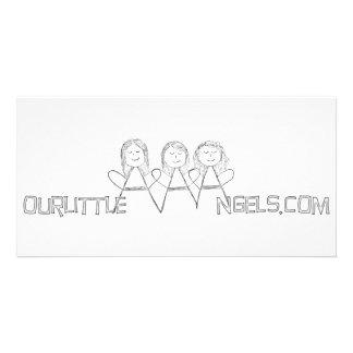 Nossa bandeira pequena de AAAngels Cartoes Com Fotos Personalizados