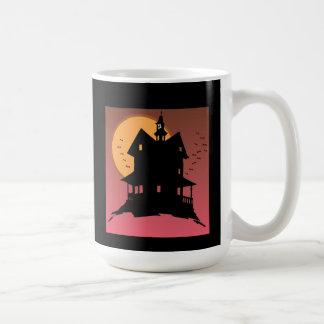 Nossa caneca assombrada do Dia das Bruxas da casa