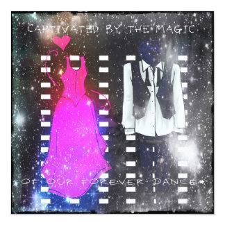 Nossa dança do Forever Convite Quadrado 13.35 X 13.35cm