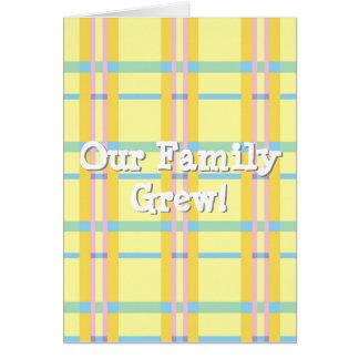 Nossa família cresceu! Anúncio unisex