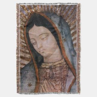 Nossa senhora da cobertura do busto de Tilma do Manta