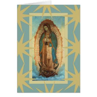 Nossa senhora de Guadalupe Cartão