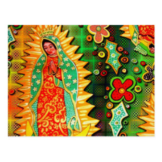 Nossa senhora de Guadalupe México Cartão Postal