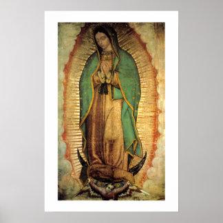 Nossa senhora do poster de Guadalupe Framable