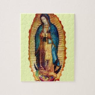 Nossa senhora do quebra-cabeça de Guadalupe 8x10