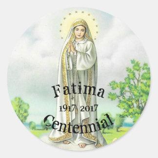 Nossa senhora Fatima Etiqueta