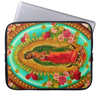 Nossa Virgem Maria mexicana do santo da senhora Capa De Notebook