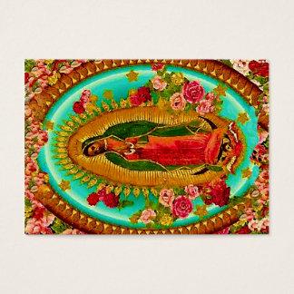 Nossa Virgem Maria mexicana do santo da senhora Cartão De Visitas