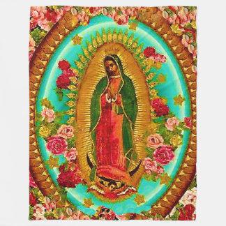Nossa Virgem Maria mexicana do santo da senhora Cobertor De Lã