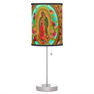 Nossa Virgem Maria mexicana do santo da senhora Luminária De Mesa