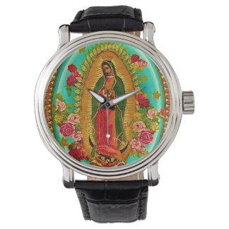 Nossa Virgem Maria mexicana do santo da senhora Relógio De Pulso