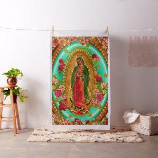 Nossa Virgem Maria mexicana do santo da senhora Tecido