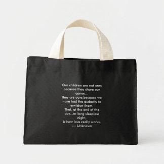 Nossas crianças não são nossas o bolsa