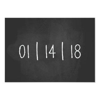 Nosso anúncio da gravidez do quadro da data