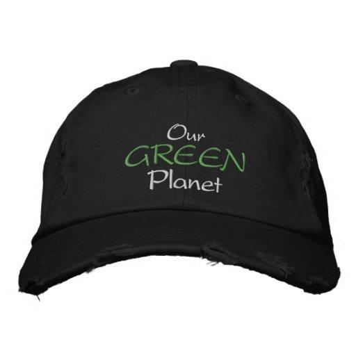 Nosso boné verde do planeta