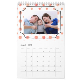 Nosso calendário customizável da família