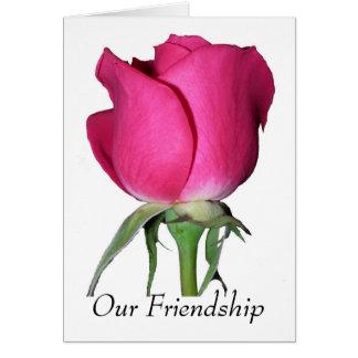 Nosso cartão da amizade