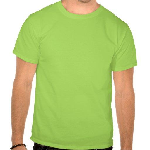 """""""Nosso"""" t-shirt mau do activista do derramar de ól"""