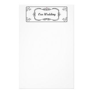 Nossos artigos de papelaria do casamento