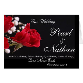 Nossos convites cor-de-rosa do casamento