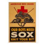 Nossos meninos precisam a guerra mundial 2 da cruz cartões postais