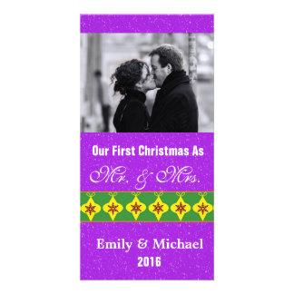 Nossos primeiros cartões com fotos do casamento do