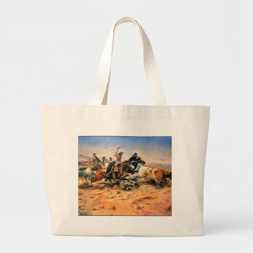 Nostalgia ocidental bolsas para compras