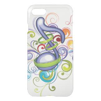 Nota colorida capa iPhone 7