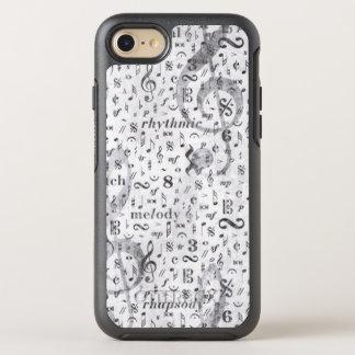 nota da música & símbolo Otterbox Iphone 6/6s Capa Para iPhone 7 OtterBox Symmetry
