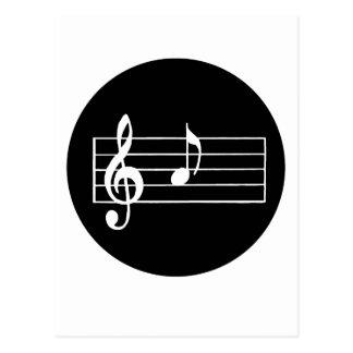 Nota musical A Cartão Postal