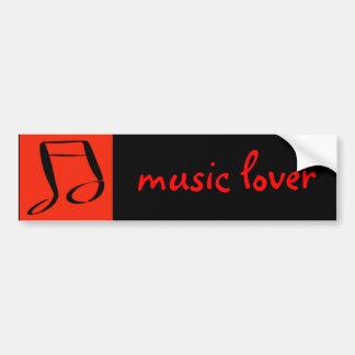 Nota musical adesivo