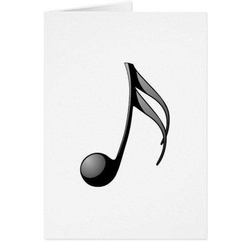 Nota musical cartoes