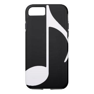 nota musical/preto capa iPhone 7