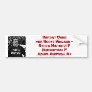 Notas do caminhante de Scott Adesivo Para Carro